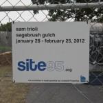 Exhibition view, Sam Trioli: Sagebrush Gulch, 2012