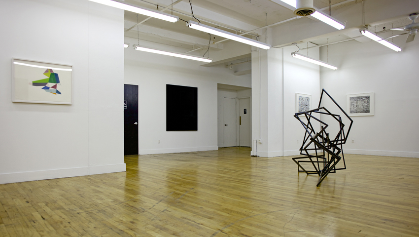 Exhibition view, Dead in August, site95 at NYCAMS