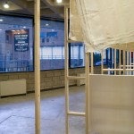 Exhibition view, Trombly Rodriguez: The Fabric of a Space