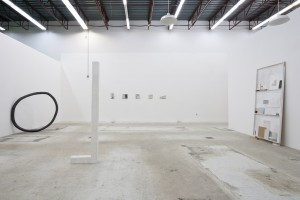 Exhibition view, Cut Outs - Jenny Brillhart and Carolyn Salas, January 26 - March 21, 2013