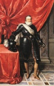 6 Frans_Pourbus_(II)_-_Henry_IV,_King_of_France_in_Armour_-_WGA18235